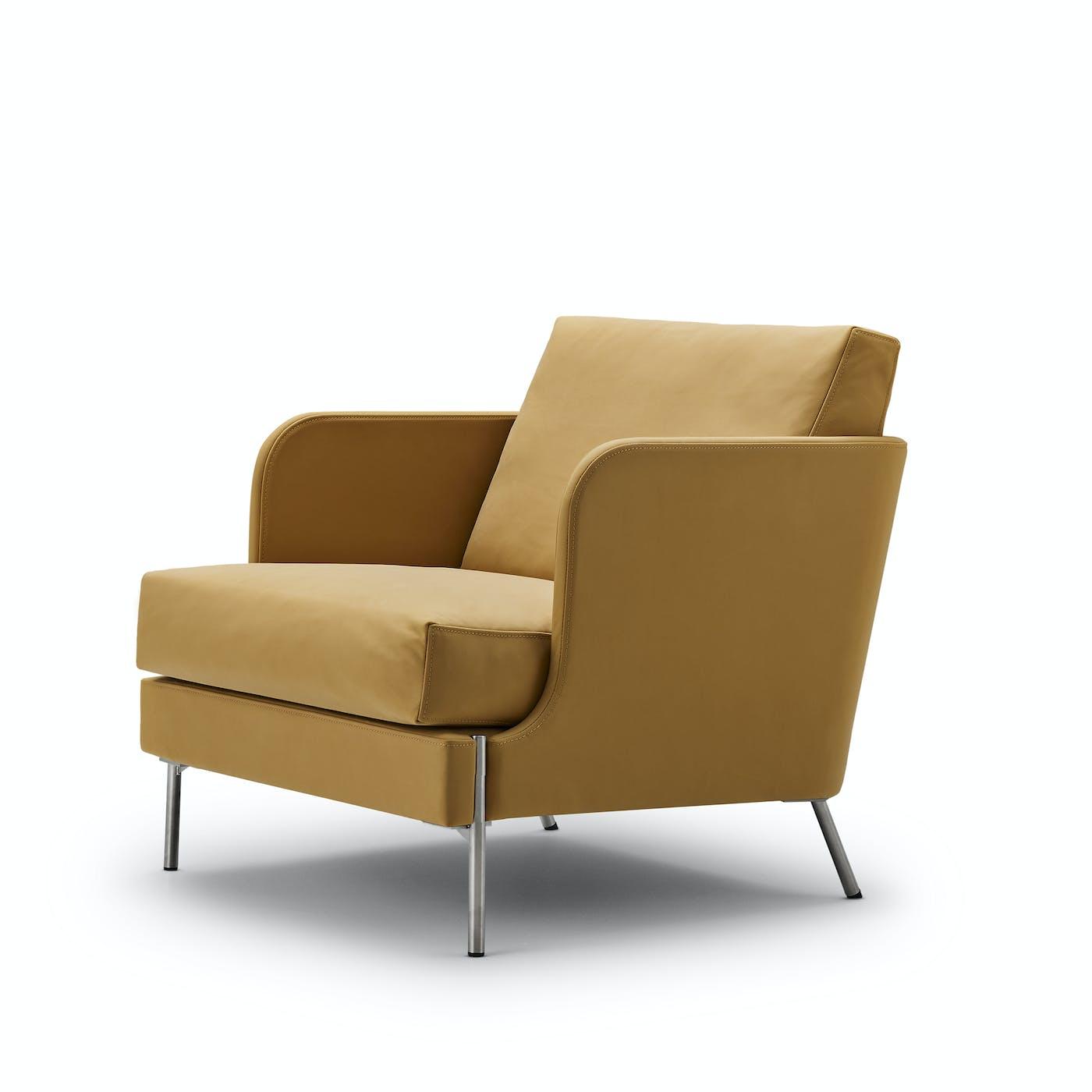 Funen chair low back 70x77 cm Flux ginger 2 83226 1