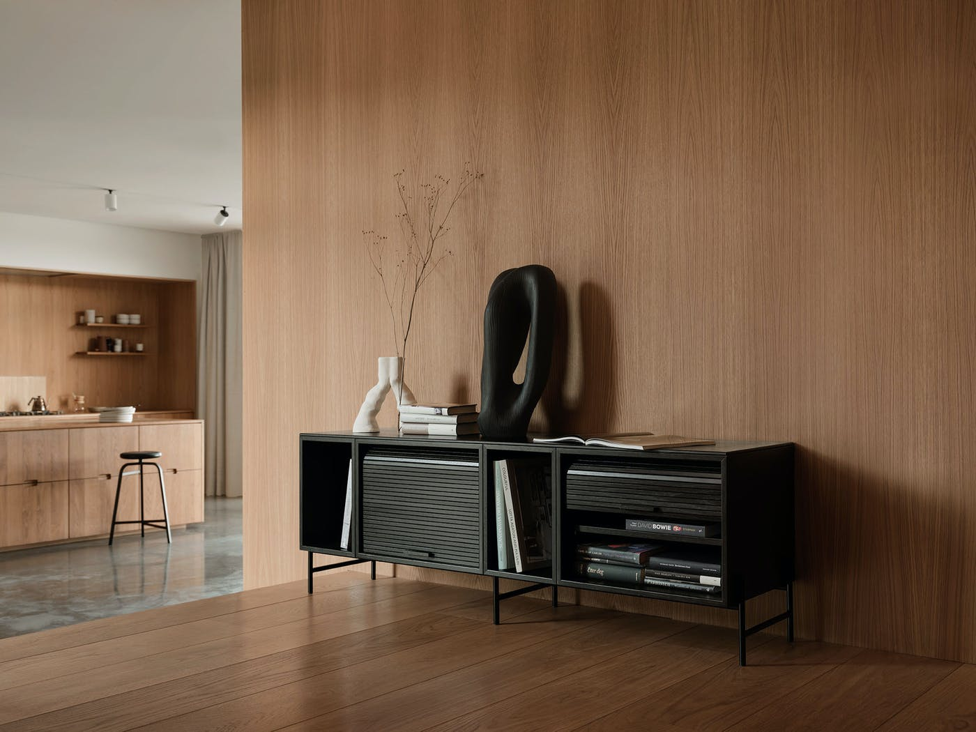 Hifive cabinet 150 black livingroom Northern Photo Einar Aslaksen Low res