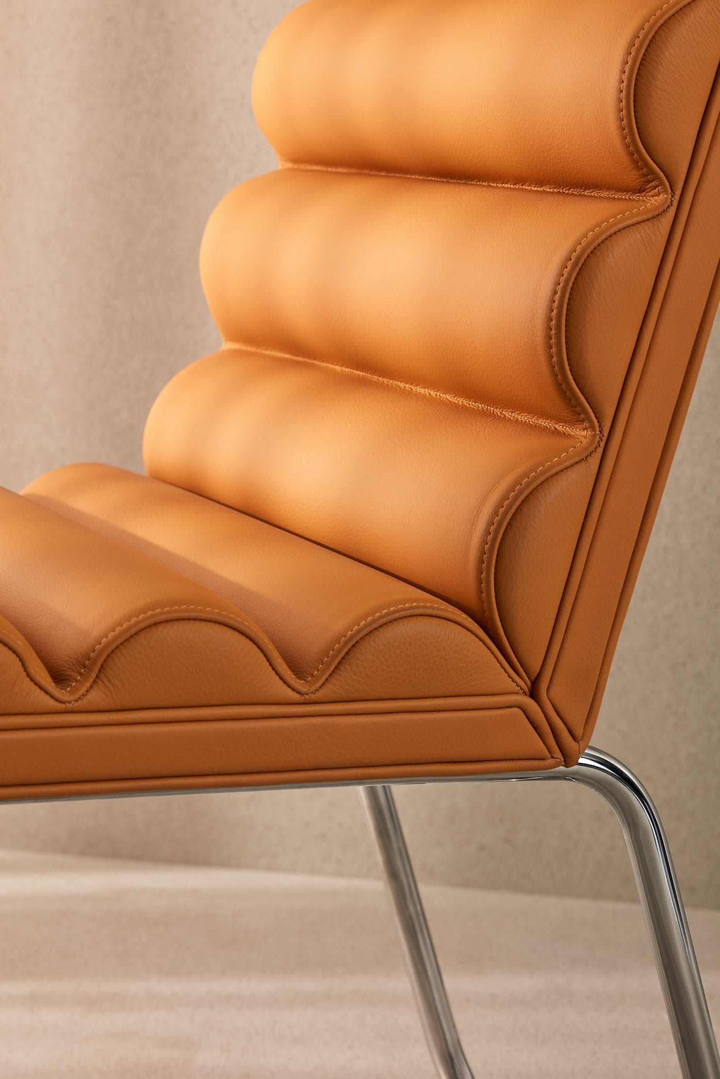 Lammhults Chicago easychair yellow d01