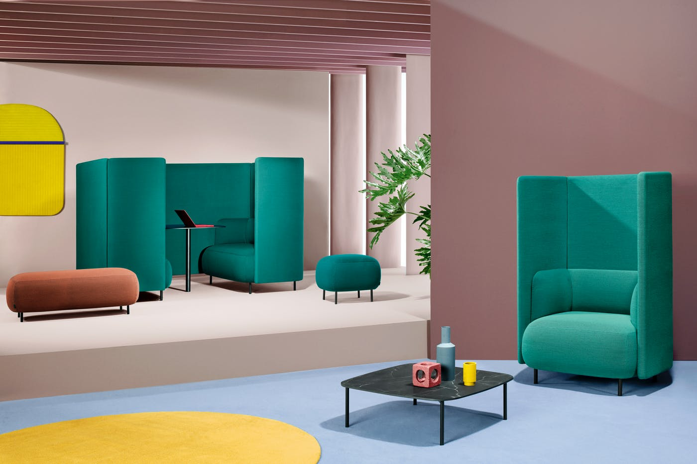Pedrali Buddyhub designed by Busetti Garuti Redaelli art direction Studio FM photo Andrea Garuti 1