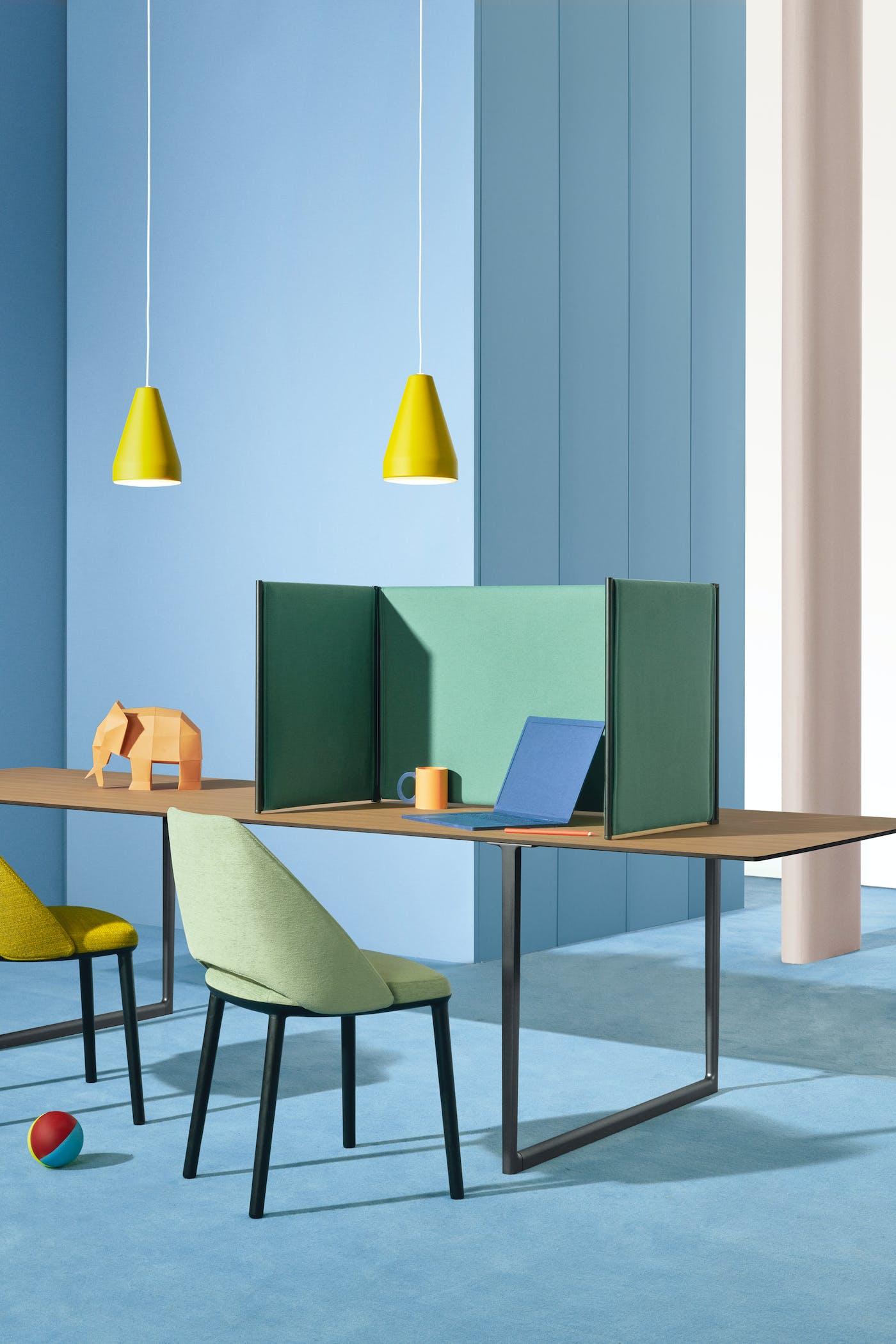 Pedrali Toa Folding Screen designed by Robin Rizzini art direction Studio FM photo Andrea Garuti 2