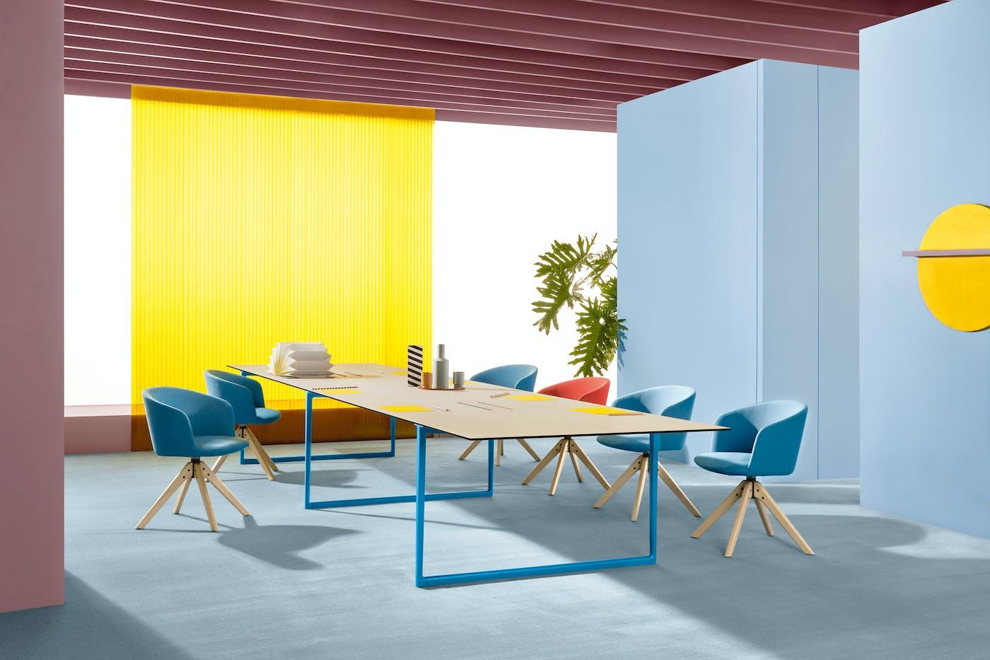 Pedrali Toa designed by Robin Rizzini art direction Studio FM photo Andrea Garuti 1