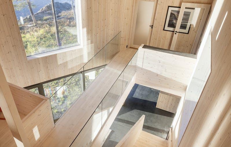 Draget bymagasinet studioistad 007 utsikt trapp